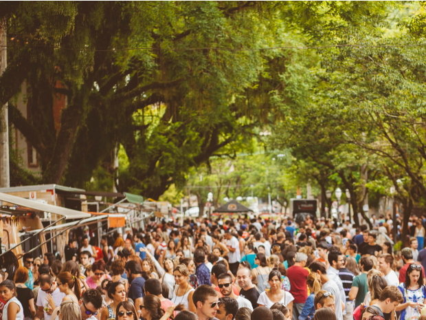 Foodparty acontece no domingo (19) em Porto Alegre (Foto: Marginal Club/Divulgação )