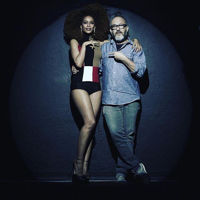 Taís Araújo foi fotografada por Bob Wolfenson (Foto: Reprodução)