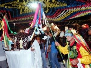 Boid e Maracanã é um dos grupos mais tradicionais do São João do Maranhão (Foto: Biaman Prado/O Estado)