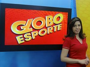 Dayse Karol estreia na apresentação do Globo Esporte neste sábado (07) (Foto: Denison Roma/GE AL)