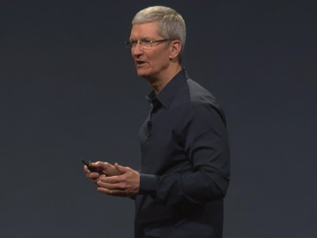 Tim Cook abre evento da Apple no WWDC 2014 (Foto: Divulgação/Apple)