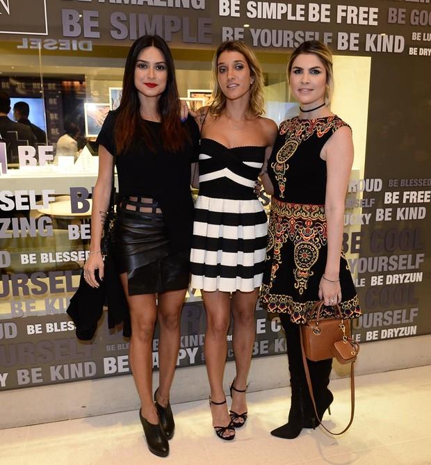 Thaila Ayala, Gabriela Pugliesi e Julia Faria (Foto: Francisco Cepeda/AGNews-SP)