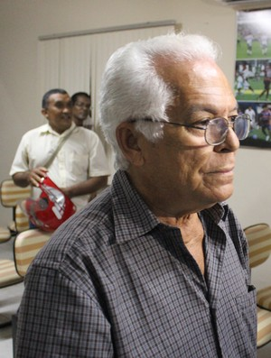 Zé Lima, presidente do Parnahyba (Foto: Renan Morais)