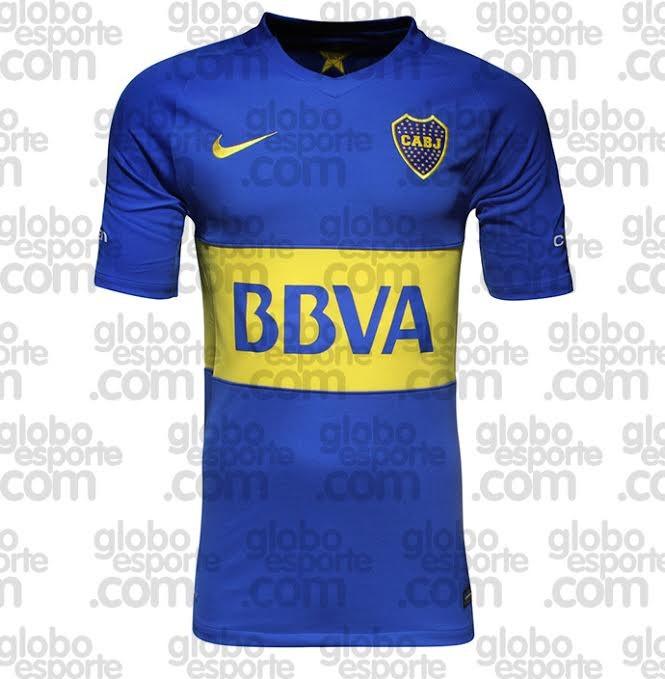 Nova Camisa Boca Juniors