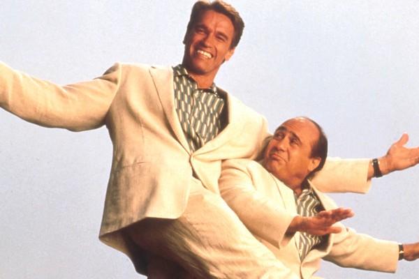 Cena de 'Irmãos Gêmeos' (1989) (Foto: Reprodução)