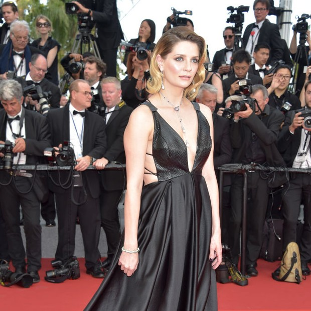 Mischa Barton em Cannes 2017 (Foto: Getty Images)