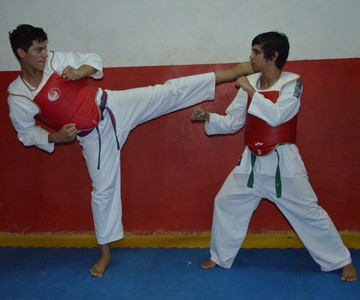 Taekwondo Roraima (Foto: Nailson Wapichana/GloboEsporte.com)
