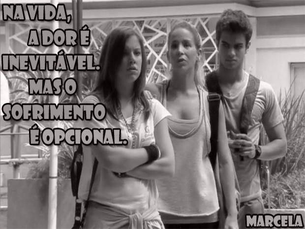 Lia, Marcela e Gil (Foto: Malhação/ TV Globo)