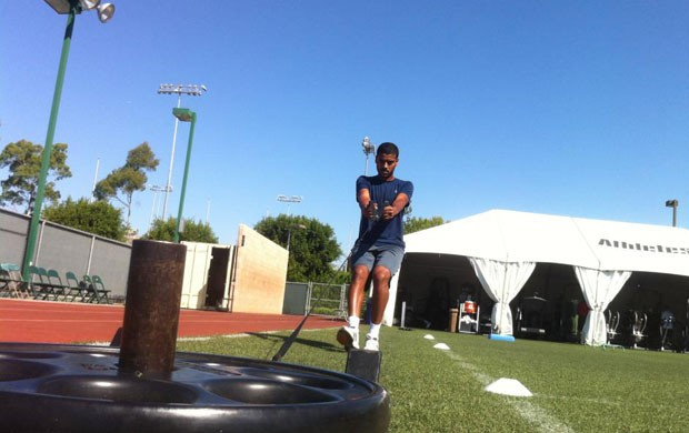 Alan Carvalho do RB Salzburg (Foto: Arquivo Pessoal)