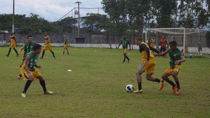 Santos-AP; Futebol; Amapá (Foto: Rafael Moreira/GE-AP)