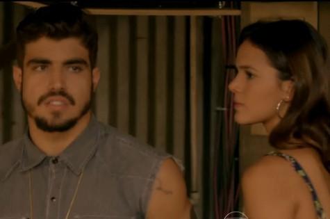 Caio Castro e Bruna Marquezine em I love Paraisópolis (Foto: Reprodução)