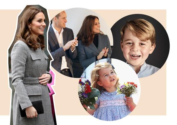 Os bebês de 2018 - Kate Middleton (Foto: Chris Jackson/Getty Images e Yui Mok - WPA Pool/Getty Images)
