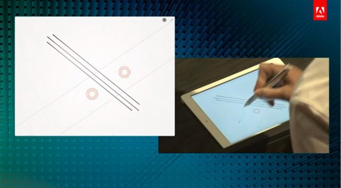 Adobe Ink&Slide é um conjunto que facilita desenhos e traços na tela do iPad (Foto: Reprodução/Adobe)