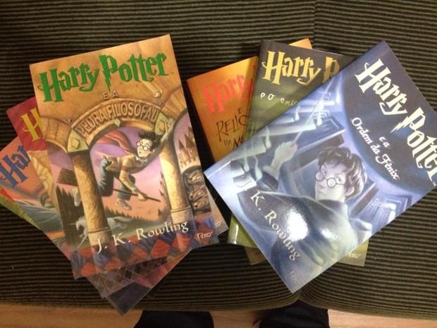 Livros como Harry Potter fazem crianças se integrarem, diz pedagoga. (Foto: Fernanda Lourenço/G1)