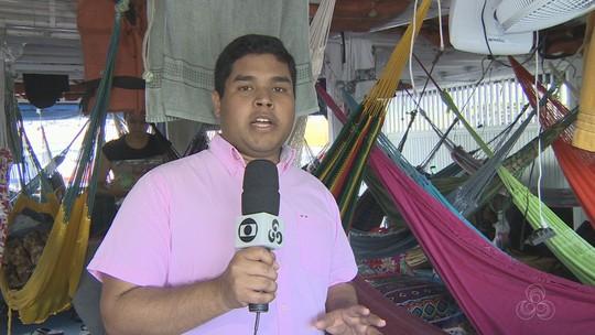 No AM, cubanos e venezuelanos viajam de barco em busca de melhores condições