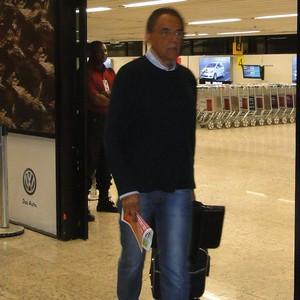 Benecy Queiroz, supervisor de futebol do Cruzeiro (Foto: Tayrane Corrêa)