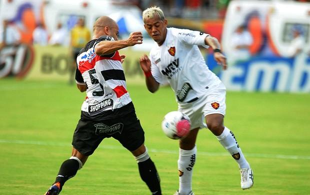 Marcelinho Paraíba - Santa Cruz x Sport (Foto: Aldo Carneiro)