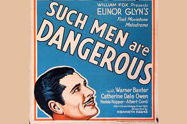 'Homenss Perigosos' (1930) (Foto: Reprodução)