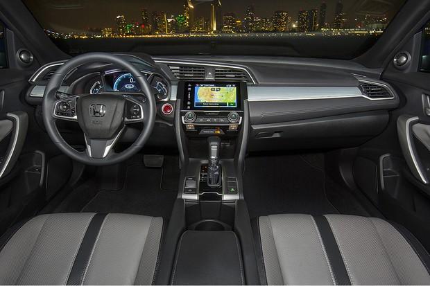 Honda Civic Coupé 2017 (Foto: Divulgação)
