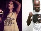 T-shirts com frases viraram febre entre famosos. Veja alguns modelos