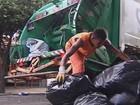 Coleta de lixo volta ao normal depois de dois dias paralisada na região