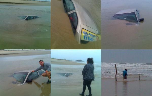 Acidente com carro (Foto: Divulgação)