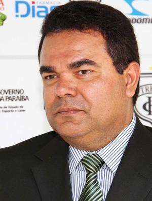 Eduardo Medeiros, presidente do Treze (Foto: Magnus Menezes / Jornal da Paraíba)
