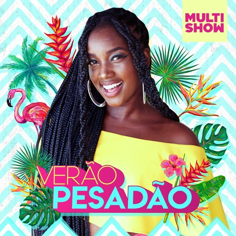 Iza comanda o 'Vero Pesado' no canal do YouTube Msica Multishow (Foto: Multishow)