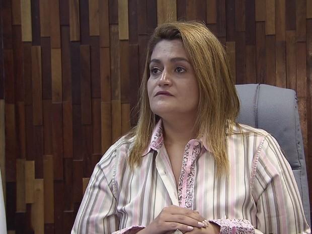 Prefeita de Peruíbe, Ana Preto (Foto: Reprodução / TV Tribuna)
