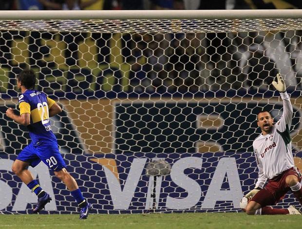 Dario Cvitanich gol Boca juniors (Foto: EFE)