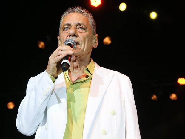 Chico Buarque em show em São Paulo (Foto: Manuela Scarpa/ Brazil News)