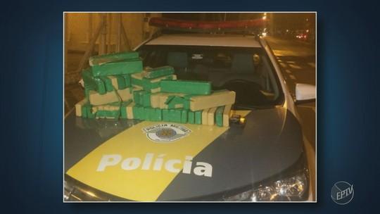 Homem é preso com 40 quilos de maconha em pedágio de Nova Odessa