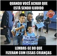 Rosario Central x Grêmio memes Grêmio Libertadores (Foto: Reprodução)