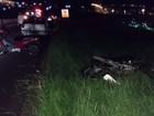 Motociclista morre após ser atingido por carro em rodovia de Marília