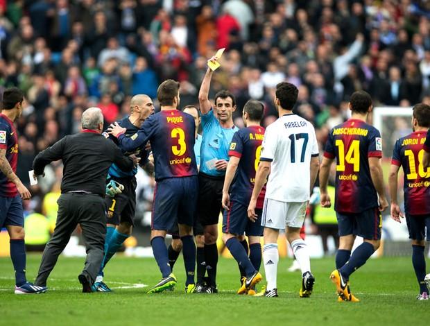 árbitro miguel perez laza real madri e Barcelona (Foto: Agência Getty Images)