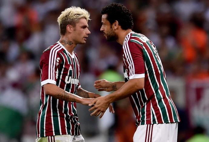 Fred Fluminense e Goiás Brasileirão (Foto: Agência Getty Images)