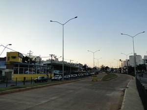 BRT Cristiano Machado é uma das oito obras de mobilidade urbana em execução na cidade e não estará pronta até a Copa das Confederações (Foto: Pedro Cunha/G1)