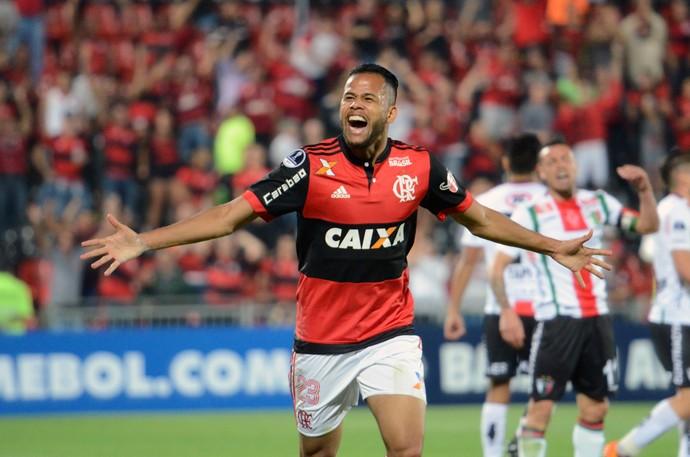 Geuvanio Flamengo Palestino (Foto: Agência Estado)