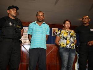 Raimundo Nonato e Savana Barbosa foram presos no dia 11 de agosto. Ela tentava embarcar na cidade de Almerim (PA) para Macapá (AP). Já Raimundo foi preso na zona rural do município de Novo Repartimento. (Foto: Antonio Silva/ O Liberal)