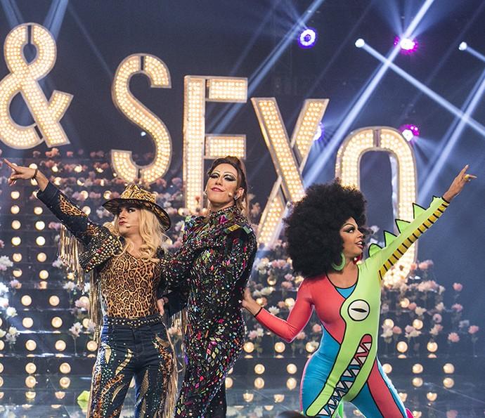 Drag queens arrasam na final da competição (Foto: Raphael Dias/ Gshow)