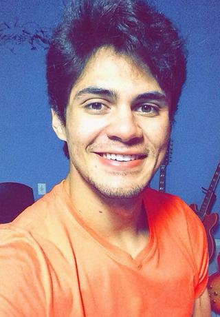 Lucas Veloso, filho de Shaolin (Foto: Reprodução/Instagram)