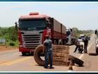 Bloqueio de rodovia federal em MT segue sem previsão de liberação
