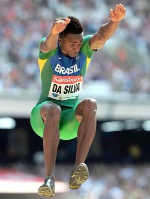 Mauro Vinicius Da Silva salto em distância Londres (Foto: Getty Images)