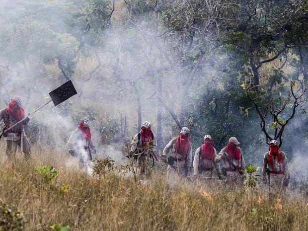 MT lançou plano de combate às queimadas para 2016 (Foto: Lucas Ninno/Gcom-MT)