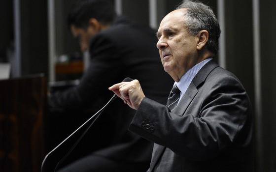 O senador Cristovam Buarque (PPS-DF), em foto de 2014 (Foto: Edilson Rodrigues/Agência Senado)