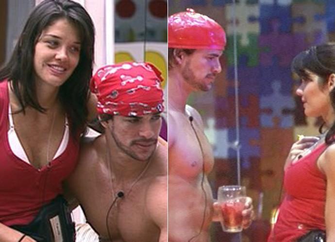 Talula e Rodrigo, do BBB11, chegaram a ficar noivos depois do confinamento (Foto: TV Globo)