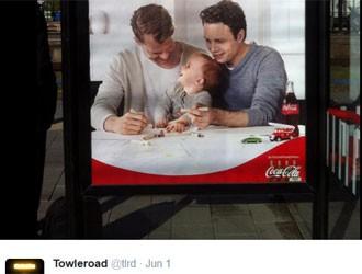 Felicidade sobre a tradição (Coca-Cola) (Foto: Reprodução/Twitter)