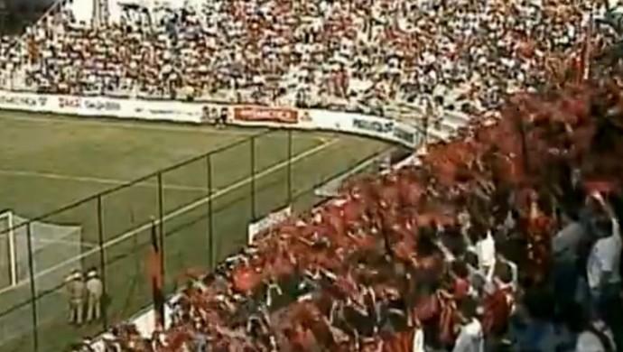 Atlético-PR Baixada (Foto: Reprodução/RPC TV)