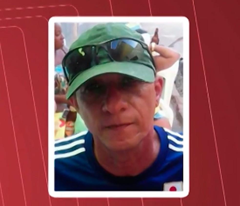 Osvaldo era procurado pelo assasinato do mecânico Synval (Foto: Reprodução/ TV Bahia)