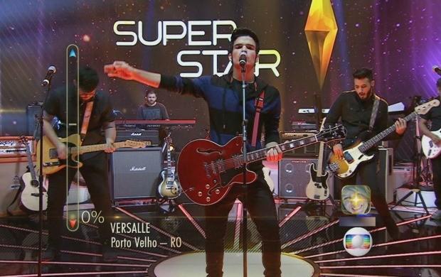 Banda Versalle se apresenta no SuperStar neste domingo (21) (Foto: Rondônia TV)